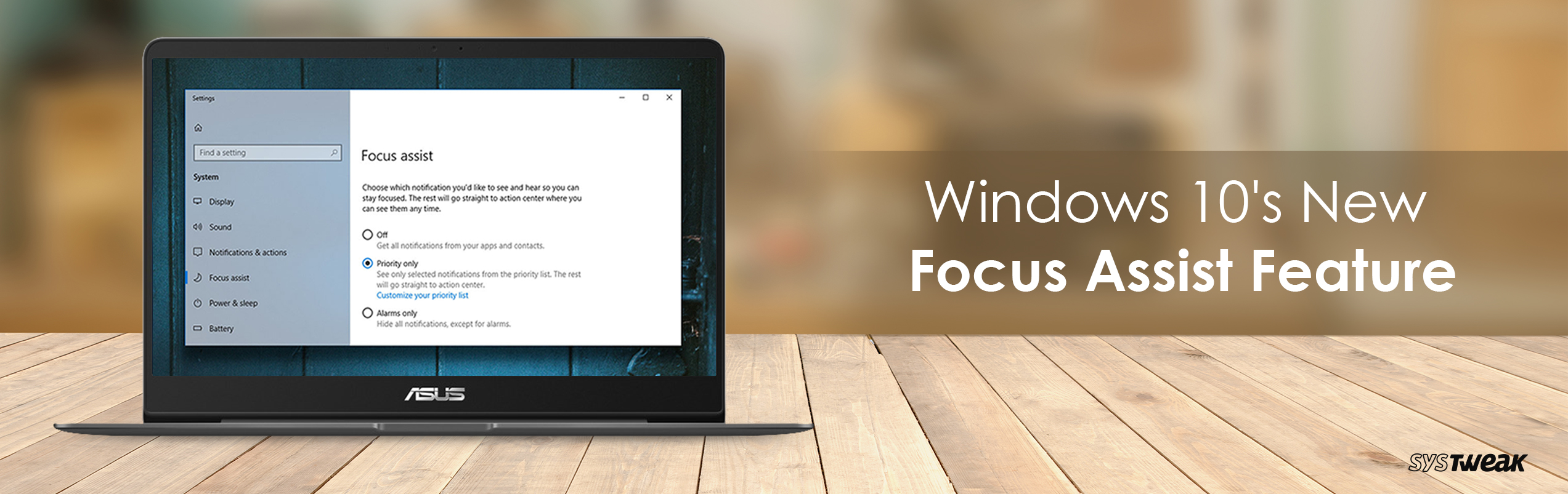 How To Use Windows 10's New Focus Assist Feature