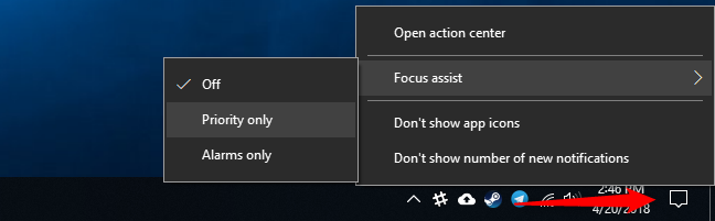 How to Enable the Focus Assist Feature on Windows 10