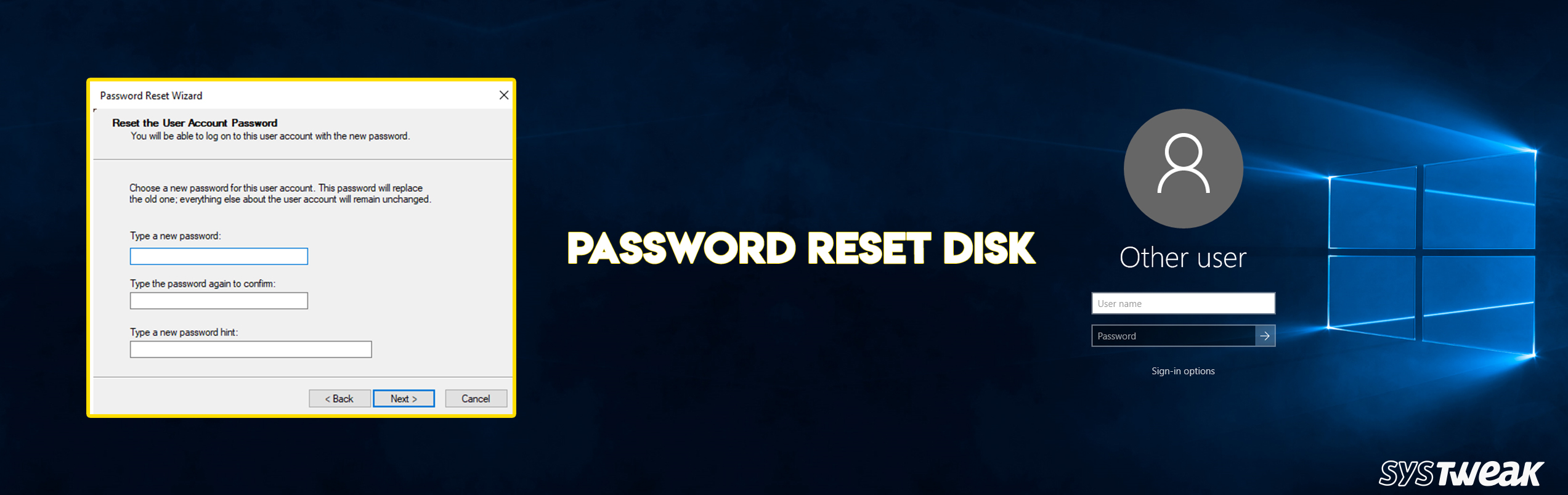 How To Create And Use A Password Reset Disk In Windows 10