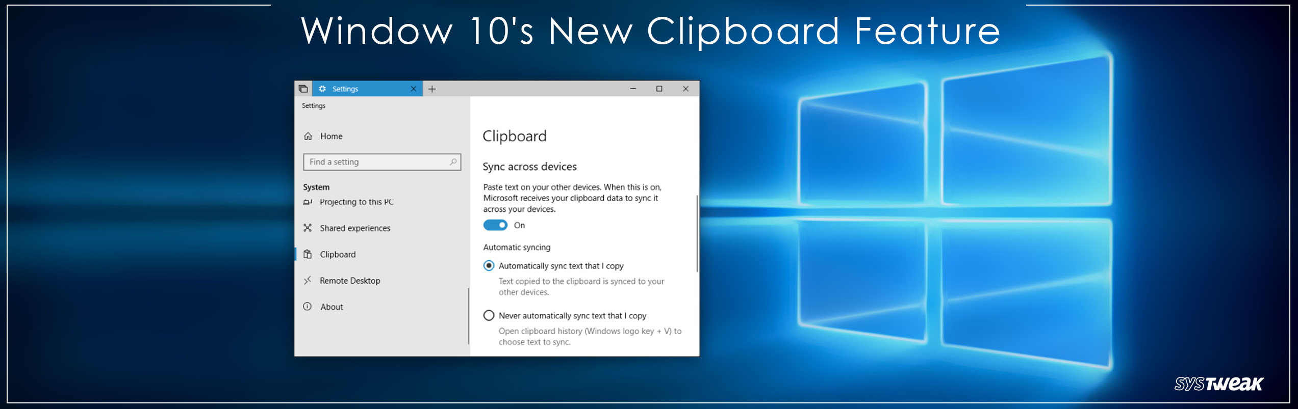 Quick Guide on Using Windows 10's New Clipboard