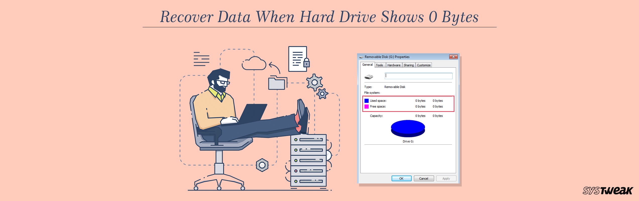 Recover Your Data When Hard Drive Shows 0 Bytes