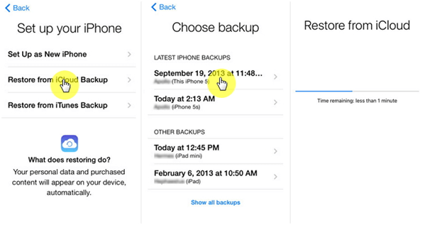 Resetting your iOS device using iCloud-6