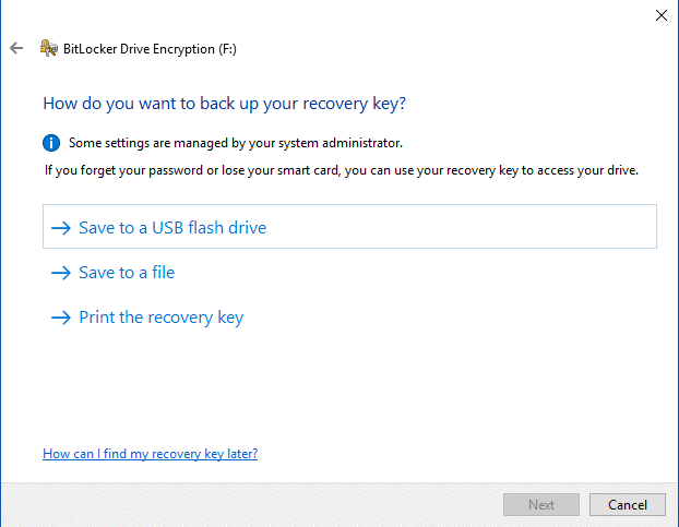 Steps To Encrypt A USB Flash Drive 5