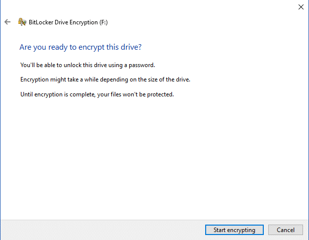 Steps To Encrypt A USB Flash Drive 8
