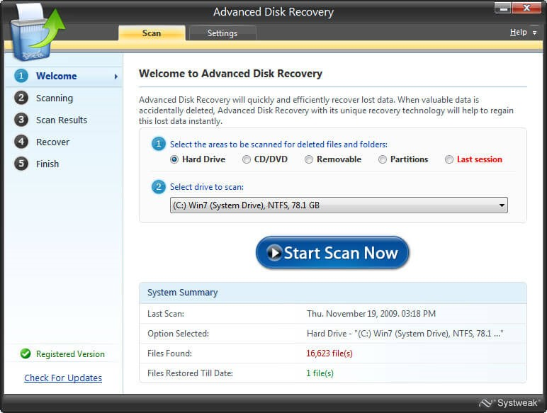 Use Third Party Recovery Tool