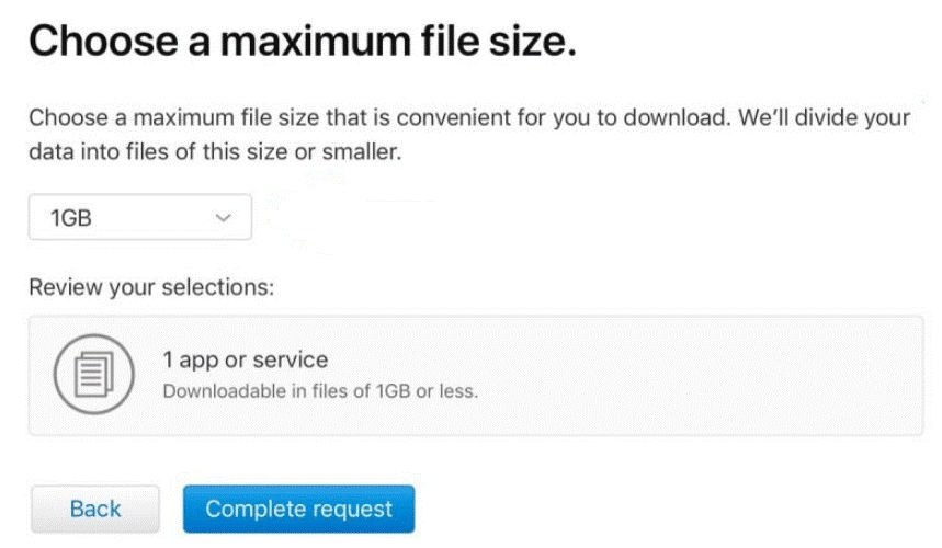 maximum file size