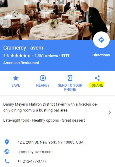 generate Google Maps QR code -3