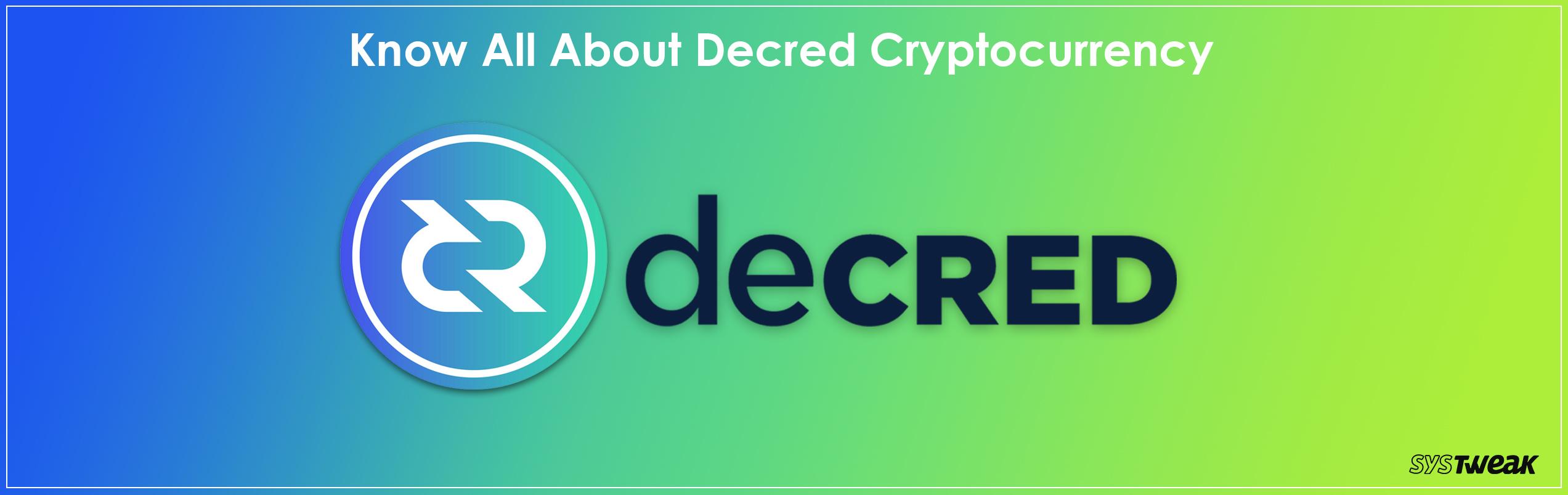 Decred: An Autonomous Currency That Has Stolen Limelight