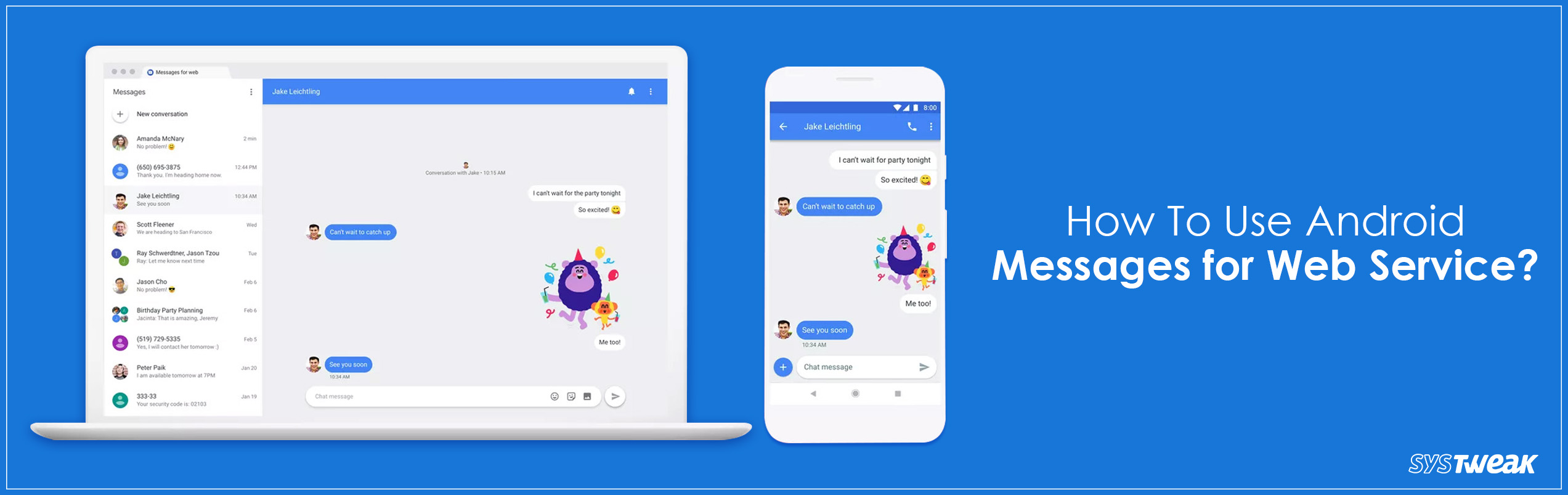 Getting Started With Android Messages For Web