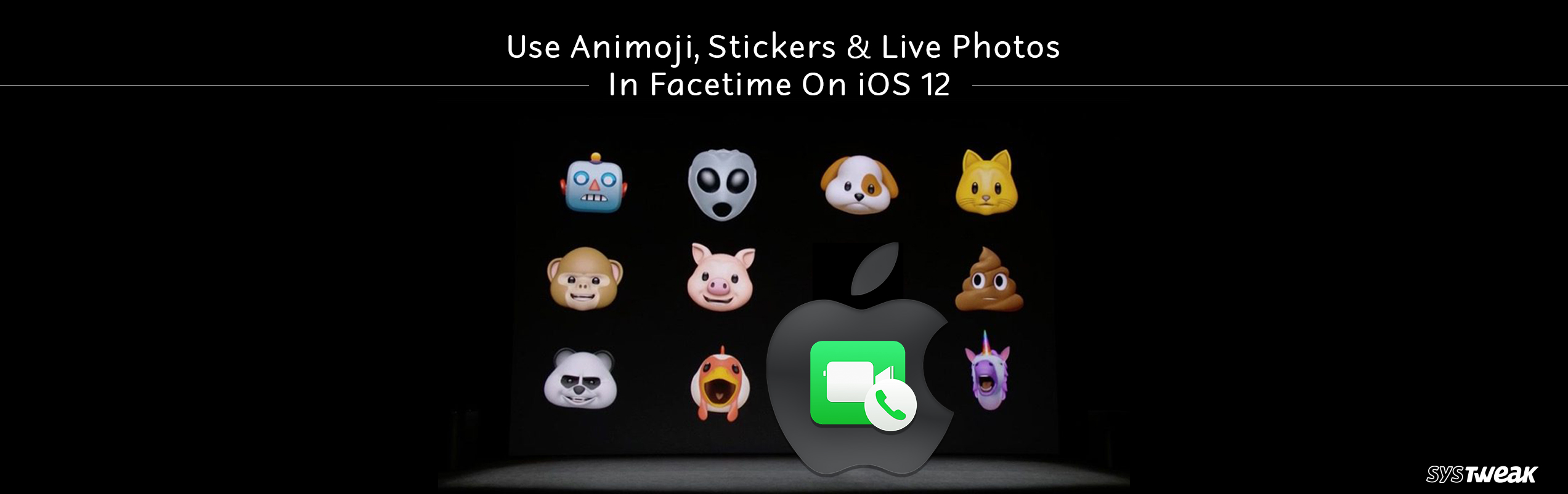 Use Animoji, Stickers, And Live Photos In FaceTime On iOS 12