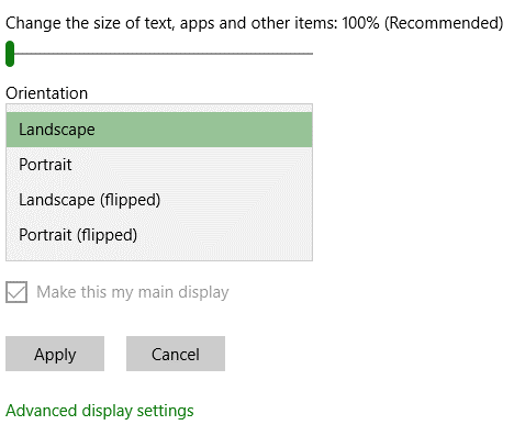 Configure Display Settings on Dual Display-7