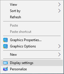 Configure Display Settings on Dual Display