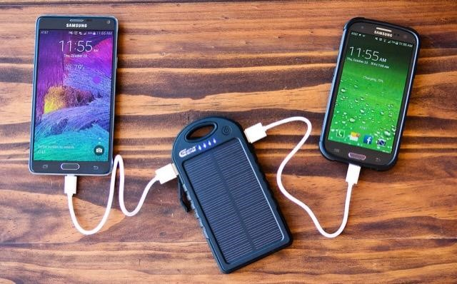 Creative Edge Solar Phone Charger
