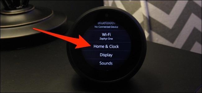 Customize Home Screen on Echo Show