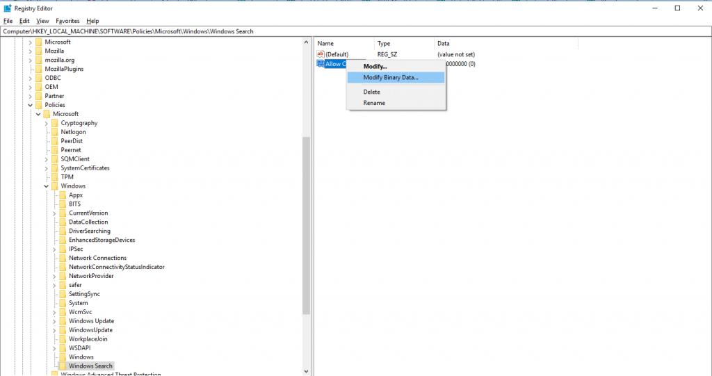 Disable Cortana on Windows 10 Home-4