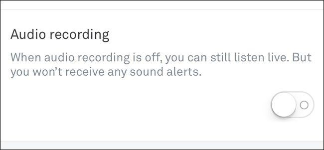 Enable Audio Recording