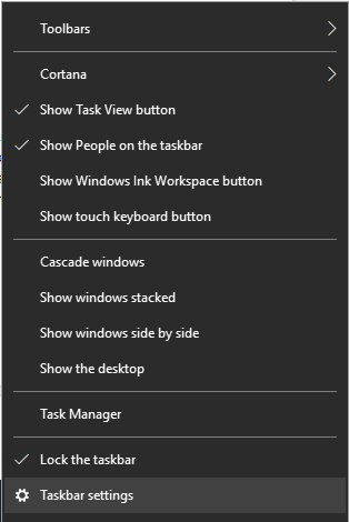 Hide the Taskbar on Multi-Displays-2