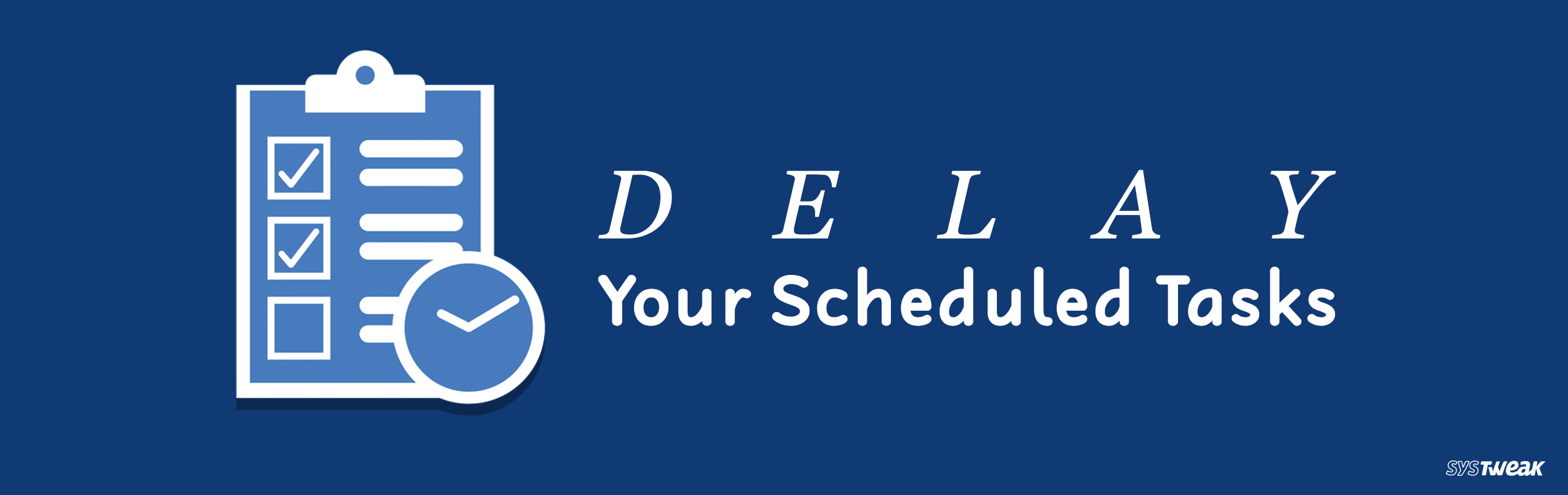 How To Delay Scheduled Tasks In Task Scheduler On Windows