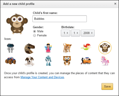 How to Create a Kids Profile on Amazon Household-2