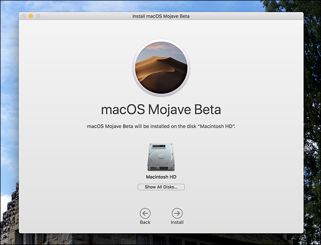 How to Install macOS Mojave Beta version-6
