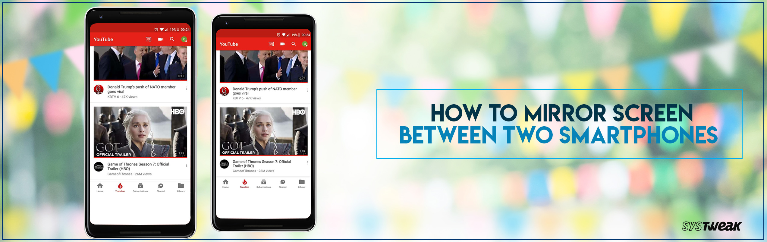 How to Mirror Screen Between Two Smartphones