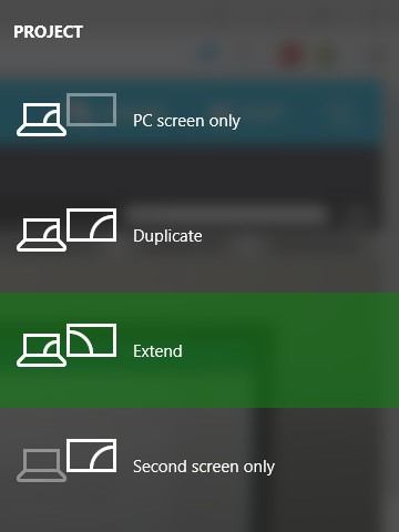 How to Switch between Display Modes