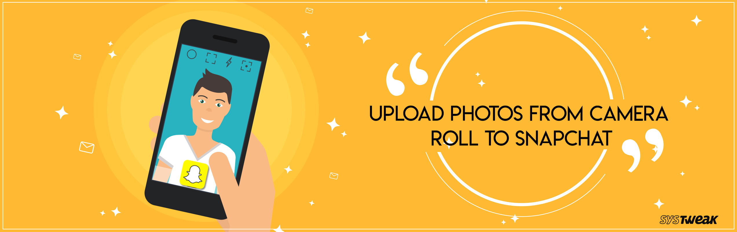 How To Upload Photos From Camera Roll To Snapchat
