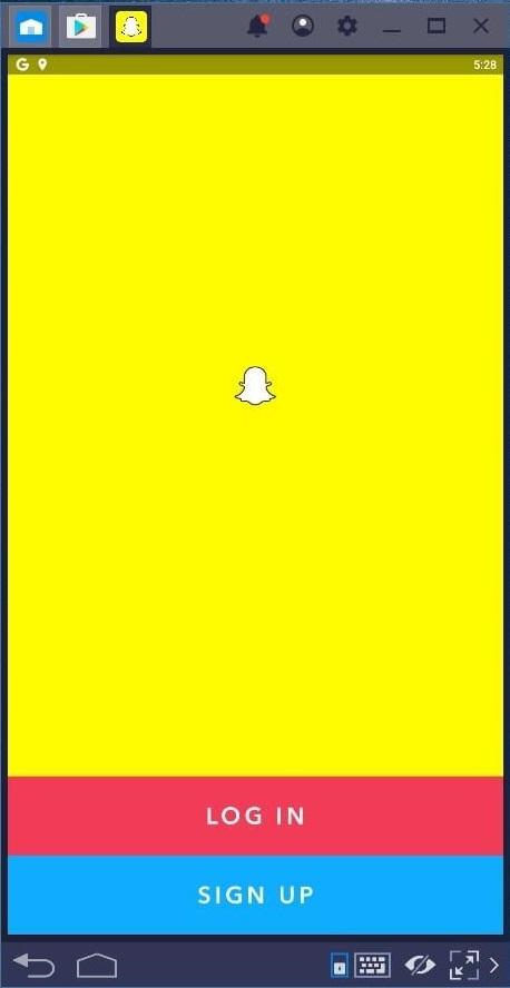 login to snapchat