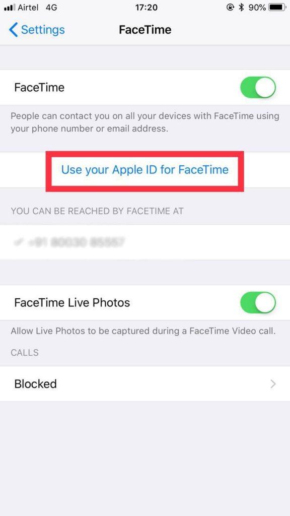 FaceTime Tips