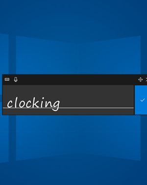How to Enable and Use Handwriting Input on Windows 10