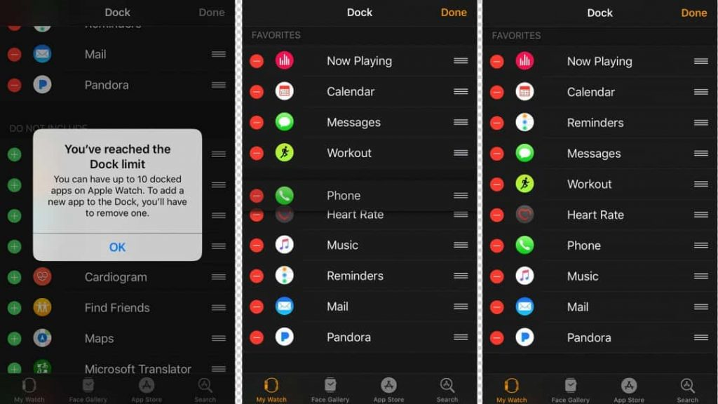 Add Favorites Apps To Dock Via iPhone