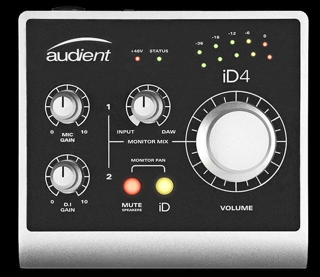 Audient ID4- ios audio interfaces