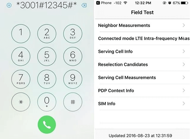 Check Field Test