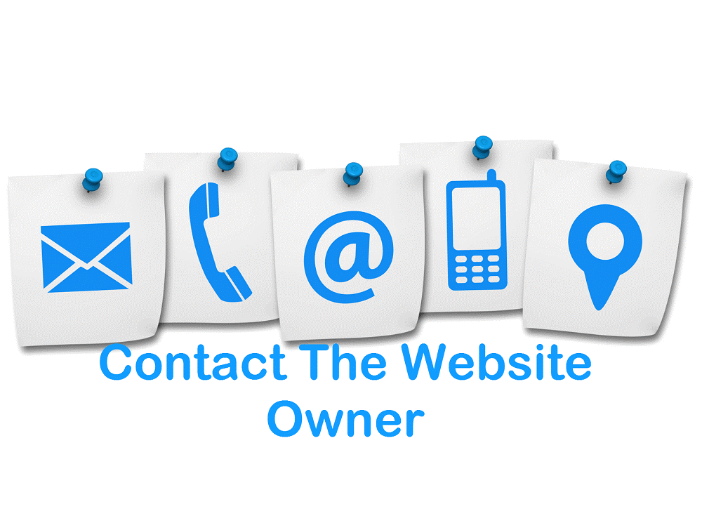 Contact the Website Owner