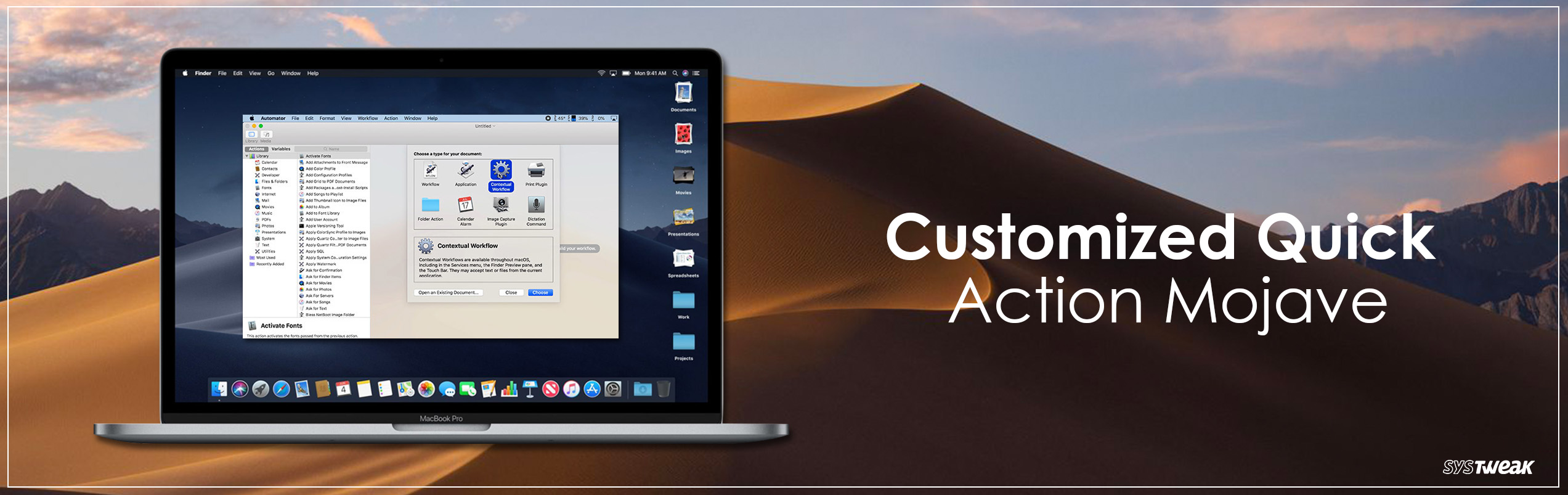 How To Build A Customized Quick Action In MacOS Mojave