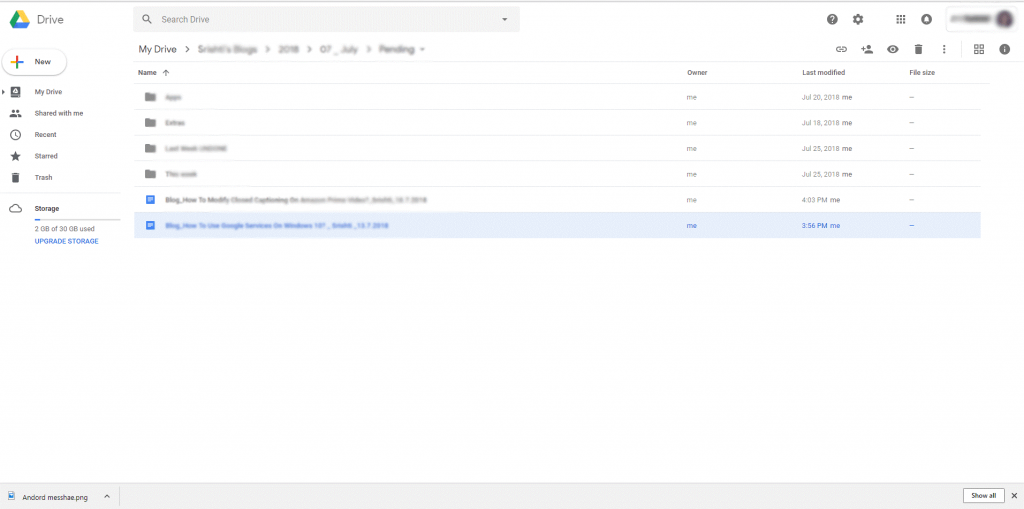 How To Use Google services On Windows 10 - google drive
