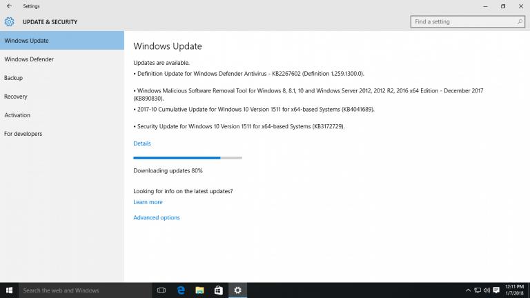 How to Fix Stuck Windows Update