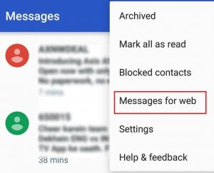 How to Log out of Android Messages App from Your PC-2