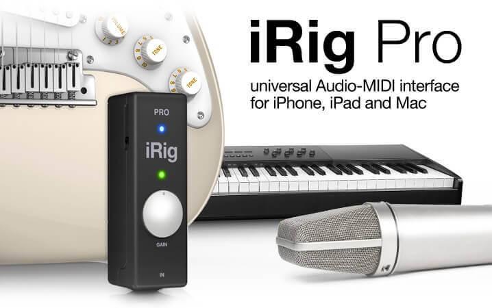 IK Multimedia iRig Pro-iphone audio interfaces
