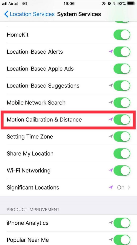 Motion Calibration & Distance