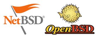 NetBSD and open BSD