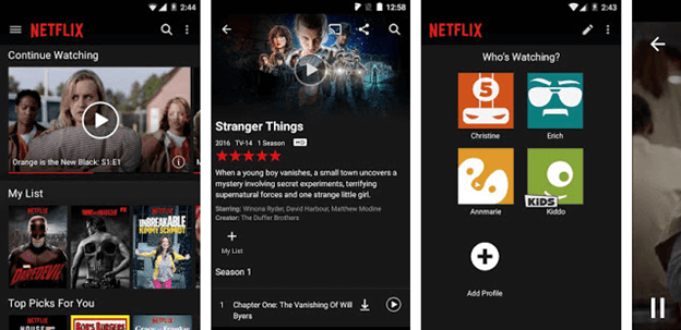 Netflix android tv apps