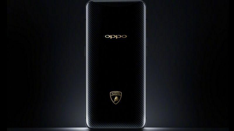 Oppo Find X-Lamborghini Edition