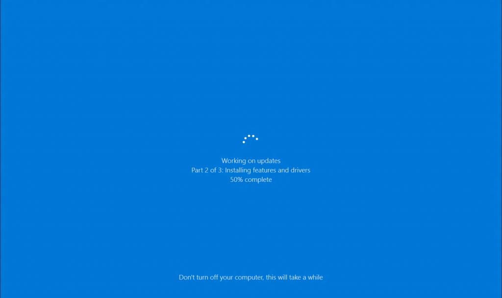 Try running Windows Update Troubleshooter