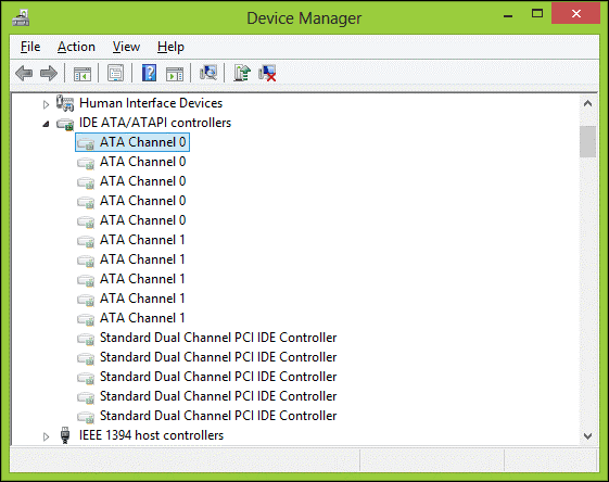 Updating or Reinstalling Driver in Device Manager