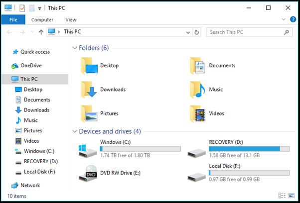 click on Start RAMDisk
