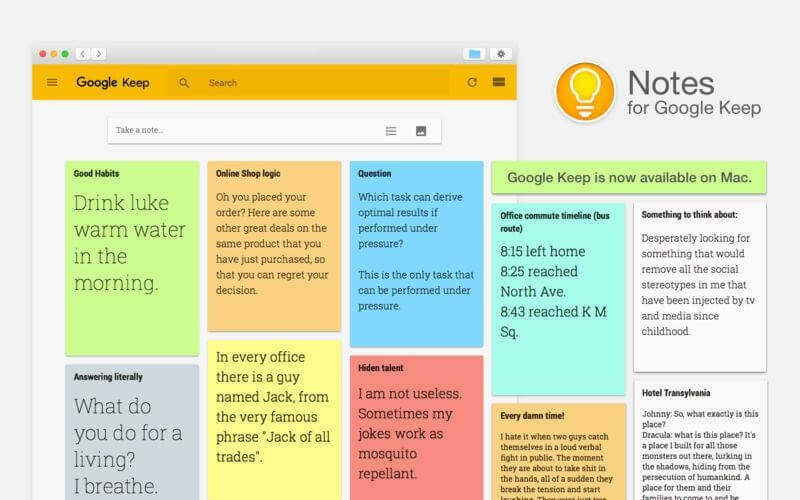 google keep tips