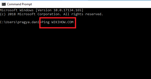 ip with ping