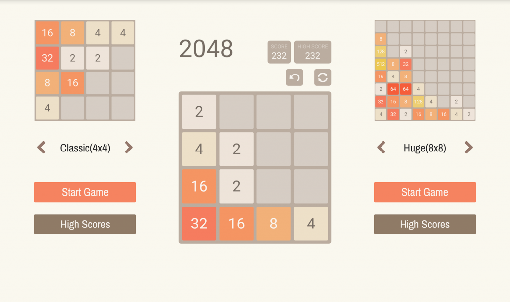 2048 most puzzle game