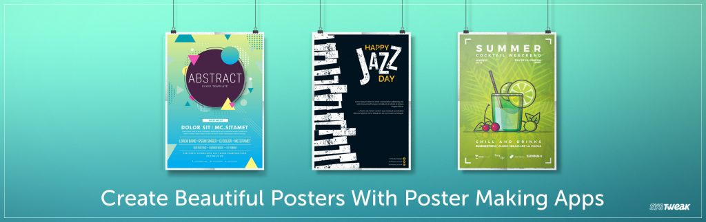 Create Beautiful Posters With Poster Making Apps